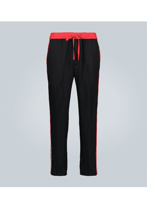 Relaxed-fit trackpants