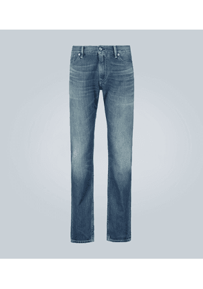 Five pocket slim jeans