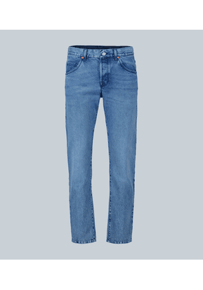 Marble washed jeans