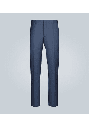 Tailored wool formal pants