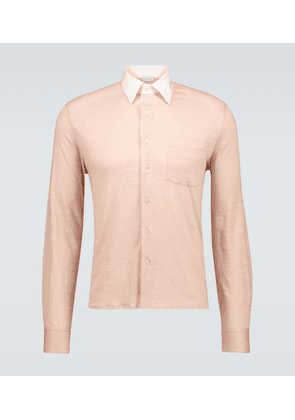 Relaxed-fit lyocell shirt