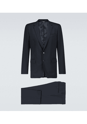 Martini suit with notched lapels