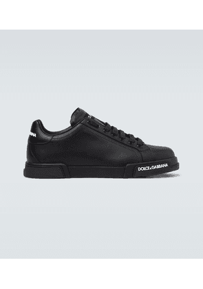 Port Light leather sneakers