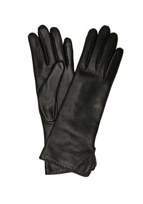 Max's leather gloves
