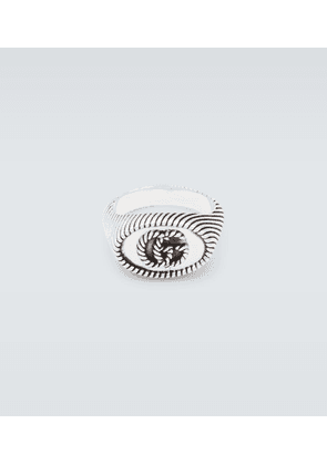 GG Marmont sterling silver ring
