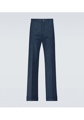 Exclusive to Mytheresa - chalk striped pants