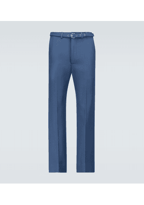 Exclusive to Mytheresa - flared wool pants