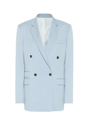 Holden double-breasted wool blazer