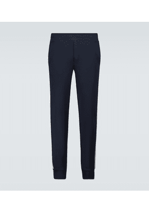 Cotton jersey trackpants