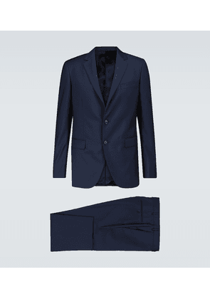 Tailored wool suit