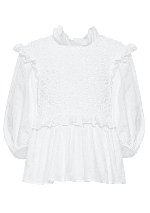 Luna cotton blouse