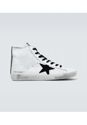 Francy classic leather high-top sneakers