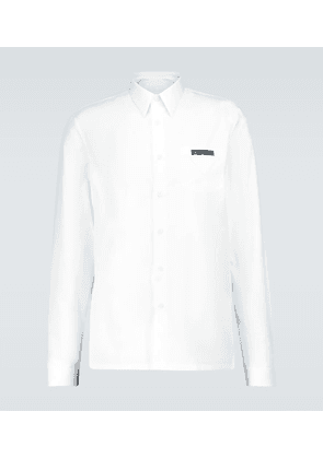 Long-sleeved shirt with logo