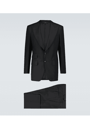 Atticus wool and silk-blend suit