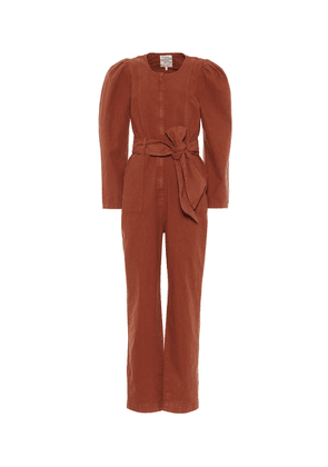 Noralee cotton and linen jumpsuit