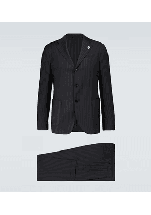 Easy Wear pinstriped travel suit
