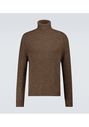 Malthe wool and alpaca-blend turtleneck