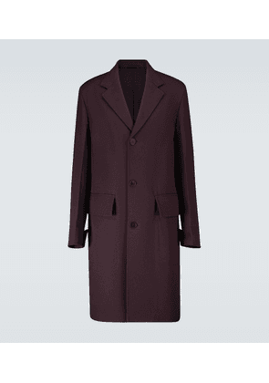 Bridge wool coat