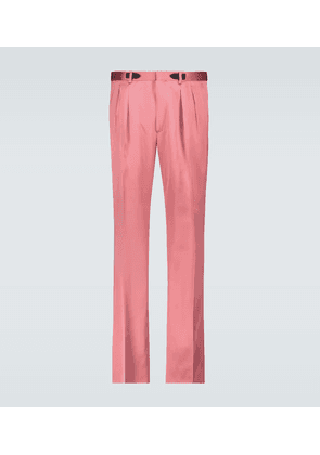 Atticus double-pleated pants