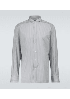 Regular-fit striped shirt
