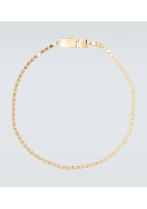 Square gold-plated bracelet
