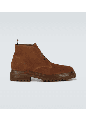 Exclusive to Mytheresa - suede desert boots
