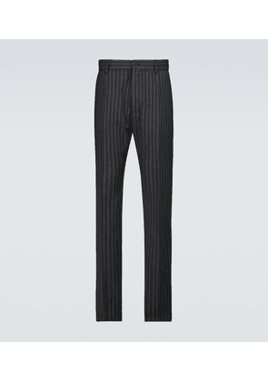 Striped formal pants