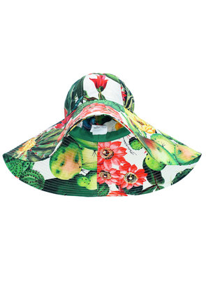 Exclusive to Mytheresa – Printed cotton-poplin hat