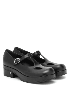 Mary Jane 40 leather loafers