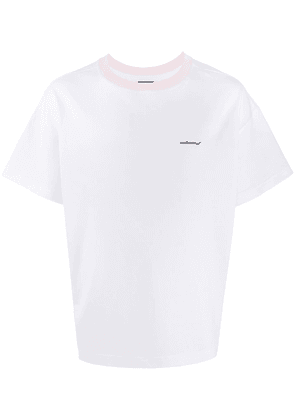 Styland Not Rain Proof crew-neck T-shirt - White