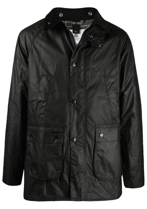 Barbour Bedale zip-up wax jacket - Black