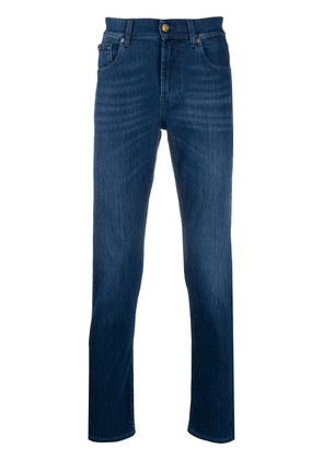 7 For All Mankind Slimmy Peak slim fit jeans - Blue