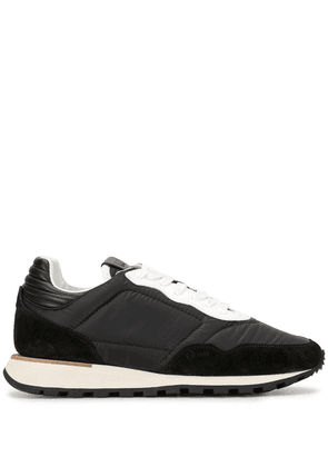 Dunhill two-tone sneakers - Black