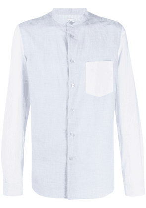 PS Paul Smith micro check print shirt - Blue