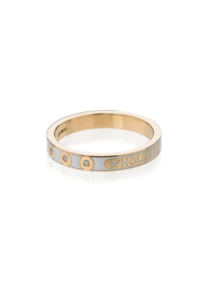 Foundrae 18kt gold Wholeness diamond ring - White