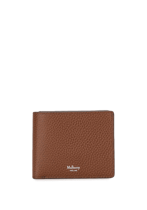 Mulberry pebbled-effect bifold wallet - Brown