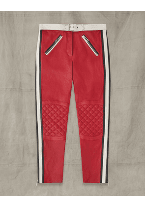 Belstaff PACE LEATHER TROUSERS Multicolor UK 8 /