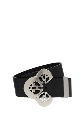 50mm Adaria Leather Belt