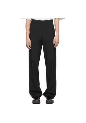 Camiel Fortgens Black Cotton Worker Pants