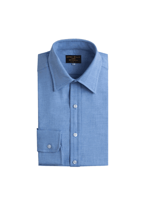 Blu Cotton Cashmere Cashmerello Shirt