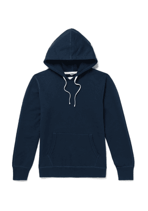 Reigning Champ - Loopback Cotton-Jersey Hoodie - Men - Blue