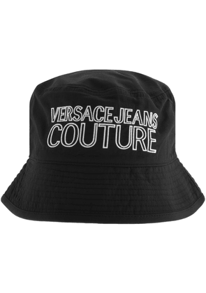 Versace Jeans Couture Logo Bucket Hat Black