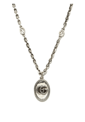 Gucci - GG Marmont Sterling-silver Necklace - Mens - Silver