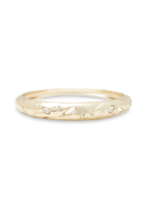 Alexis Bittar 10-karat Gold-plated Crystal Bangle Woman Gold Size --