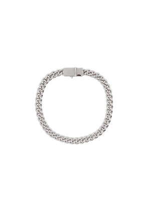 Tom Wood Curb Sterling Silver Chain Bracelet