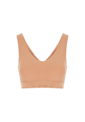 Chantelle Soft Stretch Sandalwood Padded Soft-cup Bra