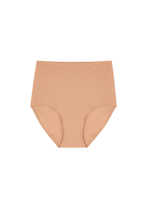 Chantelle Soft Stretch Sandalwood High-waist Briefs