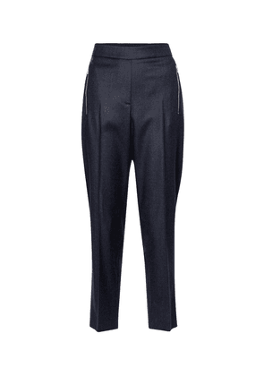 Claire cropped wool pants