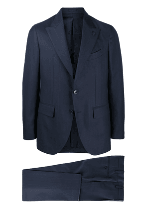 Gabriele Pasini pinstripe single-breasted suit - Blue