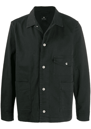 PS Paul Smith multi-pocket jacket - Black